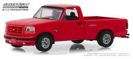 Ford  - F-150 1993 red - 1:64 - GreenLight - 13250E - gl13250E | The Diecast Company