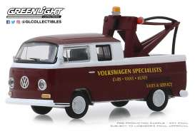 Volkswagen  - Type 2 1968 burgundy - 1:64 - GreenLight - 35140A - gl35140A | The Diecast Company