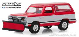 Dodge  - Ramcharger 1977 red/white - 1:64 - GreenLight - 35140C - gl35140C | The Diecast Company
