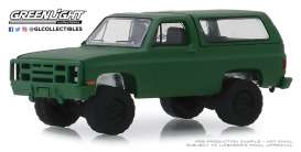 Chevrolet  - K5 Blazer 1988 green - 1:64 - GreenLight - 35140D - gl35140D | The Diecast Company