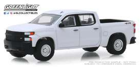 Chevrolet  - Silverado 2019 white - 1:64 - GreenLight - 35140F - gl35140F | The Diecast Company