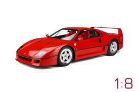 Ferrari  - F40 red - 1:8 - GT Spirit - GTS80021 - GTS80021 | The Diecast Company