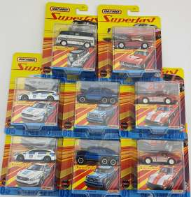 Assortment/ Mix  - various - 1:64 - Matchbox - GBJ48 - matGBJ48-HF2Fa | The Diecast Company