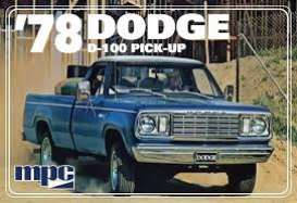 Dodge  - D100 Custom Pickup 1978  - 1:25 - MPC - 901 - mpc901 | The Diecast Company