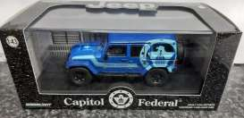 Jeep  - 2015 blue - 1:43 - GreenLight - 51087 - gl51087 | The Diecast Company