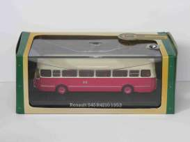 Renault  - S45 R4210 1953 red/white - 1:72 - Magazine Models - 7163135 - magBUS7163135 | The Diecast Company