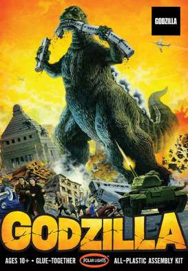 Figures  - Godzilla  - 1:144 - Polar Lights - POL956 - plls0956 | The Diecast Company