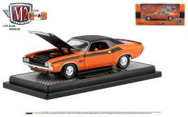 Dodge  - Challenger 1970 orange/ - 1:24 - M2 Machines - 40300-69B - M2-40300-69B | The Diecast Company