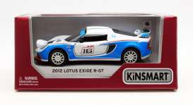 Lotus  - Exige S R-GT #16 2012 various - 1:32 - Kinsmart - 5362W - KT5362W | The Diecast Company