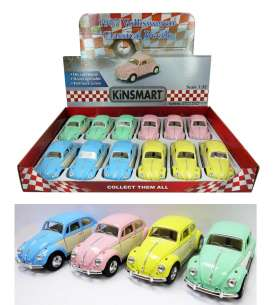 Volkswagen  - Classic Beetle 1967 various - 1:32 - Kinsmart - 5375DY - KT5375DY | The Diecast Company