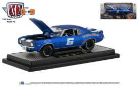 Chevrolet  - Camaro Z/28 1969 blue - 1:24 - M2 Machines - 40300-70A - M2-40300-70A | The Diecast Company