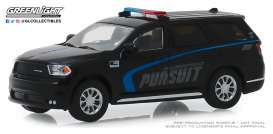 Dodge  - Durango 2019 black/blue - 1:64 - GreenLight - 30098 - gl30098 | The Diecast Company