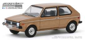 Volkswagen  - Rabbit 1977 brown - 1:64 - GreenLight - 30099 - gl30099 | The Diecast Company