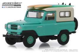 Nissan  - Patrol 1969 green/white - 1:64 - GreenLight - 97070C - gl97070C | The Diecast Company
