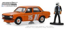 Datsun  - 510 1970 orange - 1:64 - GreenLight - 97070D - gl97070D | The Diecast Company