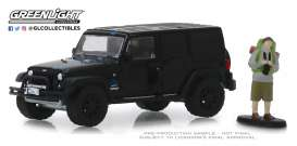 Jeep  - Wrangler 2012 black - 1:64 - GreenLight - 97070F - gl97070F | The Diecast Company