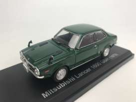 Mitsubishi  - Lancer 1600 GSR 1973 dark green - 1:43 - Norev - 800193 - nor800193 | The Diecast Company