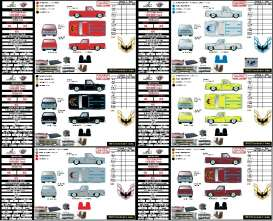 GMC  - Sierra Grande 15 1976 various - 1:64 - M2 Machines - 32500-S74 - M2-32500S74 | The Diecast Company