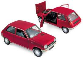 Renault  - 5 1972 red - 1:18 - Norev - 185152 - nor185152 | The Diecast Company