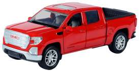 GMC  - Sierra 1500 SLT Crew Cab 2019 red - 1:32 - Motor Max - 73681 - mmax73681r | The Diecast Company