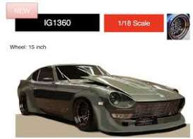Nissan  - Fairlady Z green - 1:18 - Ignition - IG1360 - IG1360 | The Diecast Company