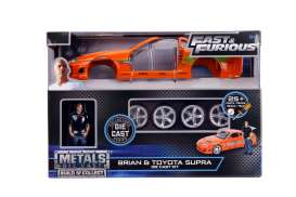 Toyota  - Supra F&F 1995 orange - 1:24 - Jada Toys - 30699 - jada30699 | The Diecast Company