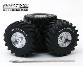 Wheels & tires Rims & tires - 1:18 - GreenLight - 13546 - gl13546 | The Diecast Company
