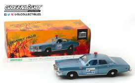 Plymouth  - Detroit Police 1977 blue/white - 1:18 - GreenLight - 19069 - gl19069 | The Diecast Company