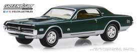 Mercury  - Cougar XR-7 1968 green - 1:64 - GreenLight - 28000A - gl28000A | The Diecast Company