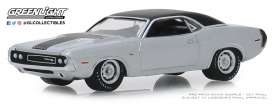 Dodge  - HEMI Challenger 1970 grey - 1:64 - GreenLight - 28000B - gl28000B | The Diecast Company