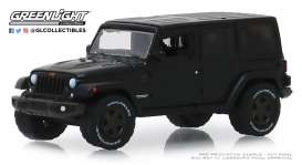 Jeep  - Wrangler 2016 black - 1:64 - GreenLight - 28000F - gl28000F | The Diecast Company