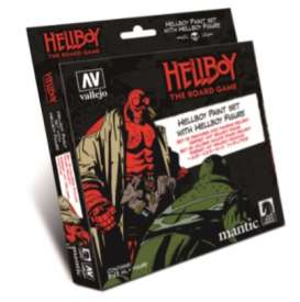 Paint Figures - Hellboy various - Vallejo - 70187 - val70187 | The Diecast Company