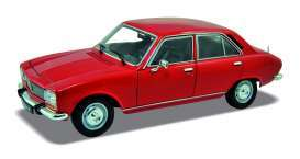 Peugeot  - 504 1974 red - 1:24 - Welly - 24001r - welly24001r | The Diecast Company