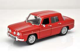 Renault  - 8 Gordini 1964 red/white - 1:24 - Welly - 24015r - welly24015r | The Diecast Company