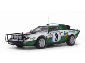 Lancia  - Stratos HF 1975 white/green - 1:18 - SunStar - 4626 - sun4626 | The Diecast Company