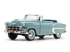 Chevrolet  - Bel Air Convertible 1953 horizon blue - 1:18 - SunStar - 1625 - sun1625 | The Diecast Company