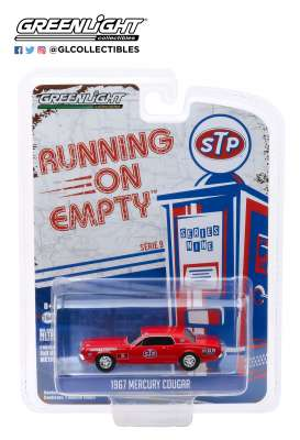 Mercury  - Cougar 1967 red - 1:64 - GreenLight - 41090C - gl41090C | The Diecast Company