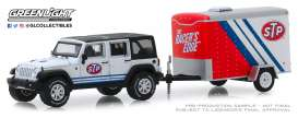 Jeep  - Wrangler 2015 white/black/red - 1:64 - GreenLight - 32180B - gl32180B | The Diecast Company