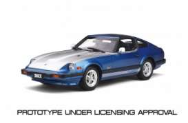 Datsun  - 280 ZX 1982 blue/silver - 1:18 - OttOmobile Miniatures - ot316 - otto316 | The Diecast Company