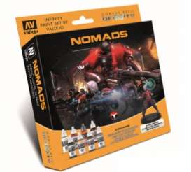 Paint Figures - Nomads various - Vallejo - 70233 - val70233 | The Diecast Company