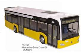 Mercedes Benz  - 2011 white/yellow - 1:43 - Norev - 351191 - nor351191 | The Diecast Company