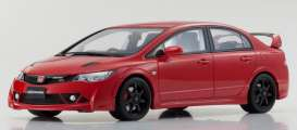 Honda  - Civic Type R red - 1:18 - Kyosho - KSR18038R - kyoKSR18038R | The Diecast Company
