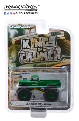 Ford  - F-250 Monster Truck 1979 green - 1:64 - GreenLight - 49050C - gl49050C | The Diecast Company