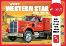 Western Star  - Semi Tractor *Coca Cola*  - 1:25 - AMT - s1160 - amts1160 | The Diecast Company