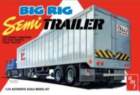 Trailer  - Big Rig Semi Trailer  - 1:25 - AMT - s1164 - amts1164 | The Diecast Company