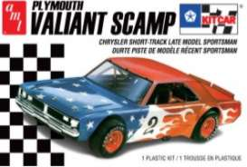 Plymouth  - Valiant Scamp  - 1:24 - AMT - s1171M - amts1171M | The Diecast Company
