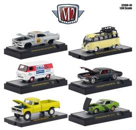 Assortment/ Mix  - various - 1:64 - M2 Machines - 32600-49 - M2-32600-49 | The Diecast Company
