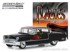 Cadillac  - Fleetwood 1955 black - 1:64 - GreenLight - 30105 - gl30105 | The Diecast Company