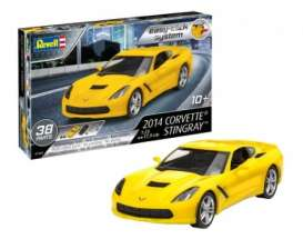 Corvette  - Stingray 2014  - 1:25 - Revell - Germany - 07449 - revell07449 | The Diecast Company