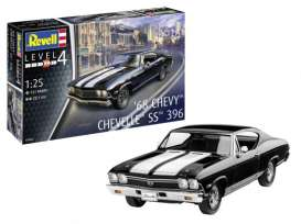 Chevrolet  - Chevelle SS 1968  - 1:25 - Revell - Germany - 07662 - revell07662 | The Diecast Company